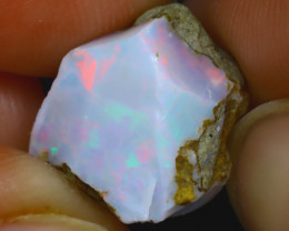 7.58Ct Multi Color Play Ethiopian Welo Opal Rough H0308/R2