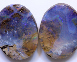 65.45cts Boulder Opal Polished Pair AOH-247