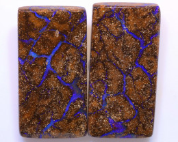 79.05cts Boulder Opal Polished Pair AOH-251