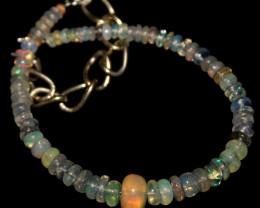 15 Crts Natural Ethiopian Welo Opal Beads Bracelet 962
