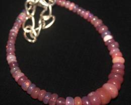 20 Crts Natural Ethiopian Welo Dyed Opal Bracelet 64