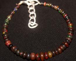 91 Crts Natural Ethiopian Welo Smoked Opal Bracelet 5