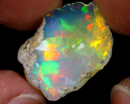 9cts Natural Ethiopian Welo Rough Opal / WR7052