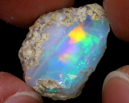 12cts Natural Ethiopian Welo Rough Opal / WR7055