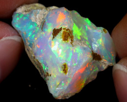 30cts Natural Ethiopian Welo Rough Opal / WR7071
