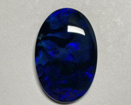 27.6ct Lightning Ridge Black Opal