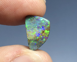 3.6cts blue green and gold Boulder opal