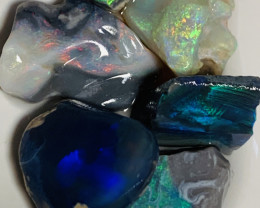 Cutters Bright Rough Opals- 47 CTs Select Rough (video)#872