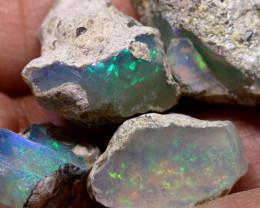 25.50cts Ethopian Welo Opal Rough Parcel ADO-8126