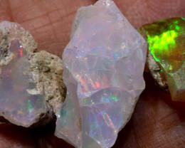 15.90cts Ethopian Welo Opal Rough Parcel ADO-8131