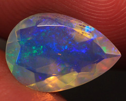 1.35 CT Rare Quality AAA Welo Ethiopian Faceted Opal-CF414