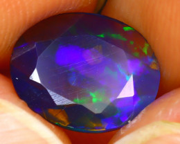 Welo Opal 1.42Ct Natural Ethiopian Play of Color Opal J0404/A28