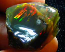 $1 NR Auction 45.74ct Ethiopian Crystal Rough Opal Specimen