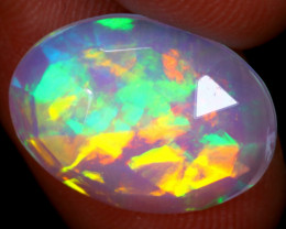 Rose Cut 3.18cts Natural Ethiopian Welo Opal / NY1861
