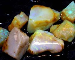 17.20cts Boulder opal pipe crystal rough parcel ADO-8186