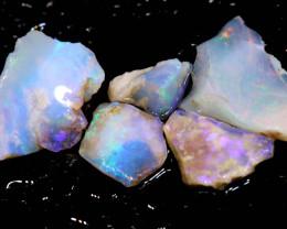 14.30cts Boulder opal pipe crystal rough parcel ADO-8196