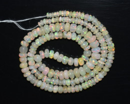 40 Ct Natural Ethiopian Welo Opal Beads Play Of Color OB295