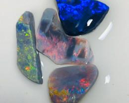 Bright & Multicolour Opal Rubs - Semi Finished Stones to Shape & Polish