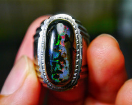 71.65 CT Gorgeous Indonesian Wood Fossil Opal Jewelry Ring