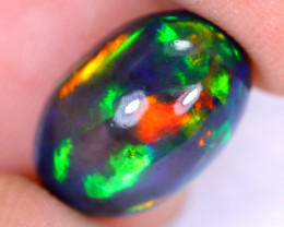 4.13cts Natural Ethiopian Welo Smoked Opal / HM2360