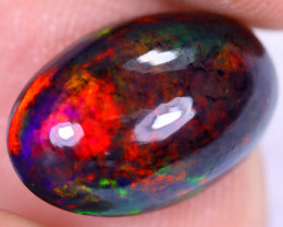 4.12cts Natural Ethiopian Welo Smoked Opal / HM2375