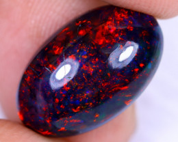4.84cts Natural Ethiopian Welo Smoked Opal / HM2377
