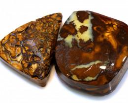 128.80 cts koroit opal pre shaped rub parcel ADO-8233