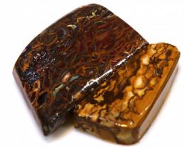 55.85 cts koroit opal pre shaped rub parcel ADO-8238
