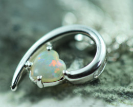 Cute Stylish Crystal Opal Pendant  CCC 2983