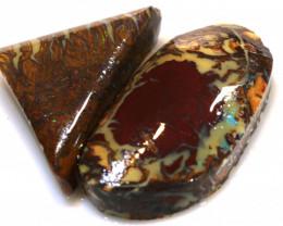 48.15 cts koroit opal pre shaped rub parcel ADO-8243