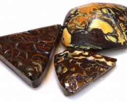 52.30 cts koroit opal pre shaped rub parcel ADO-8244