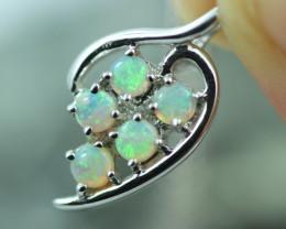 Cute Stylish Crystal Opal Pendant  CCC 2988
