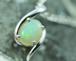 Cute Stylish Crystal Opal Pendant  CCC 2991