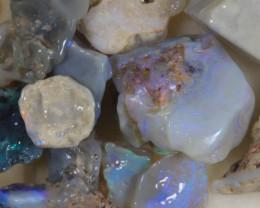 NO RESERVE!! #8  -Beginners Rough Opal -Lightning Ridge [32667] 53FROGS
