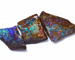 27.45 Carats Boulder Opal Rough Parcel ANO-1672