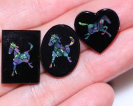 Mosaic Opal Specimens