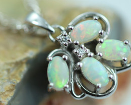 Cute Stylish Crystal Opal Pendant  CCC 3064