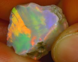 6.19Ct Multi Color Play Ethiopian Welo Opal Rough H0707/R2