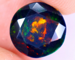 2.35cts Natural Ethiopian Welo Faceted Smoked Opal / NY2003