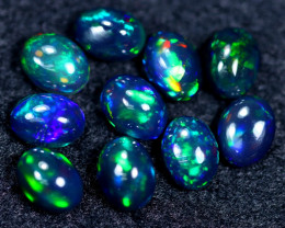 8.09cts Natural Ethiopian Welo Smoked Opal Parcel Lot / HM2386