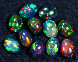 8.67cts Natural Ethiopian Welo Smoked Opal Parcel Lot / HM2389