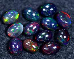 10.47cts Natural Ethiopian Welo Smoked Opal Parcel Lot / HM2390