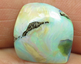 15cts,*FREE SHIPPING NATURAL AUSSIE BOULDER OPAL*