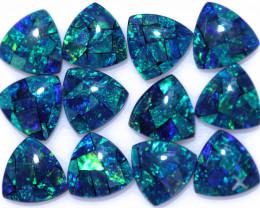 16 Cts  Tri Australian Opal Triplet Mosaic     CCC 3135
