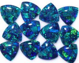 16 Cts  Tri Australian Opal Triplet Mosaic     CCC 3136