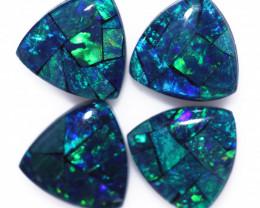 3 Cts  Tri Australian Opal Triplet Mosaic   CCC 3230