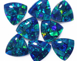 6 Cts  Tri Australian Opal Triplet Mosaic     CCC 3142