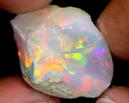 22cts Natural Ethiopian Welo Rough Opal / WR7162