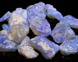 25.15cts lightning ridge crystal opal rough parcel ado-8306