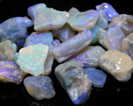29.55cts lightning ridge crystal opal rough parcel ado-8309